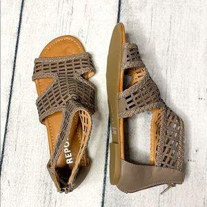 Report   Womans sandals   EUC